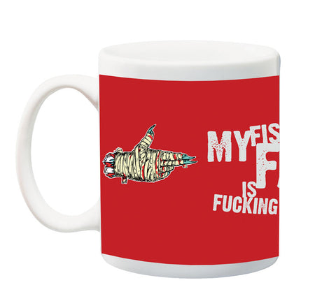 Fist To Your Face Is Fucking F@lgers Mug