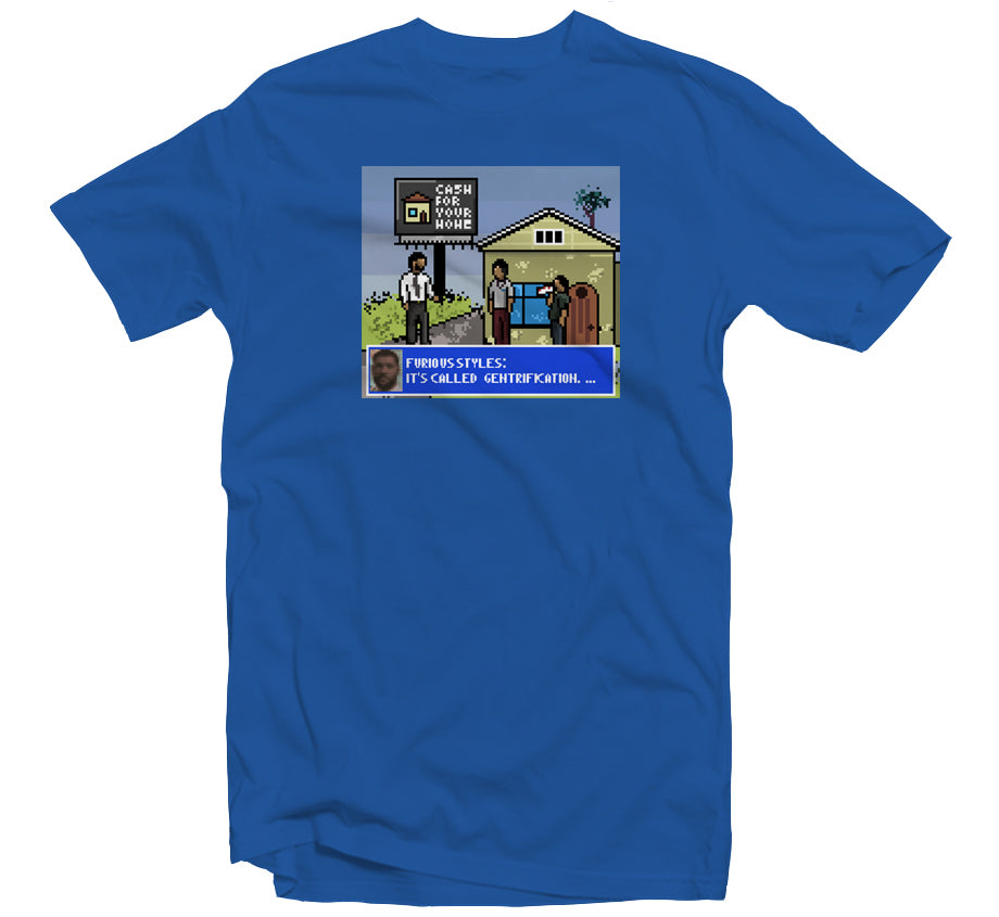 Not A Game T-shirt (Blue)