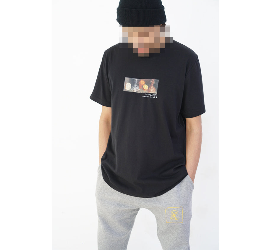 Spring '19 - Glitched Still Life T-shirt (Black)