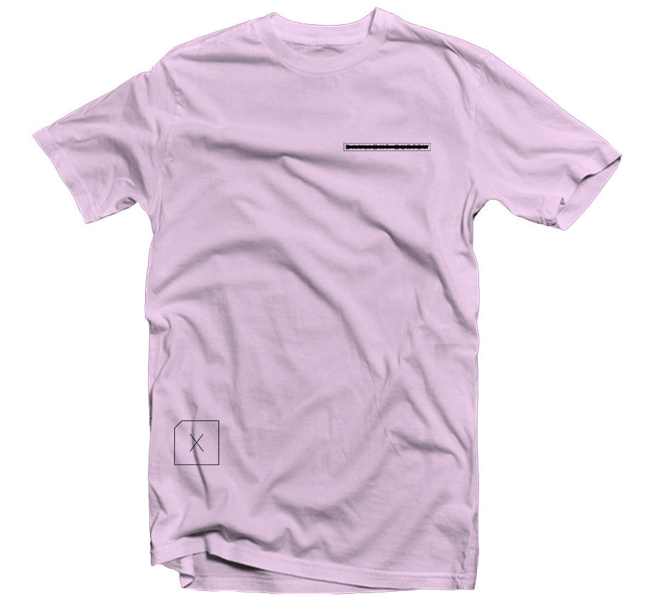 Redacted T-shirt - Pink