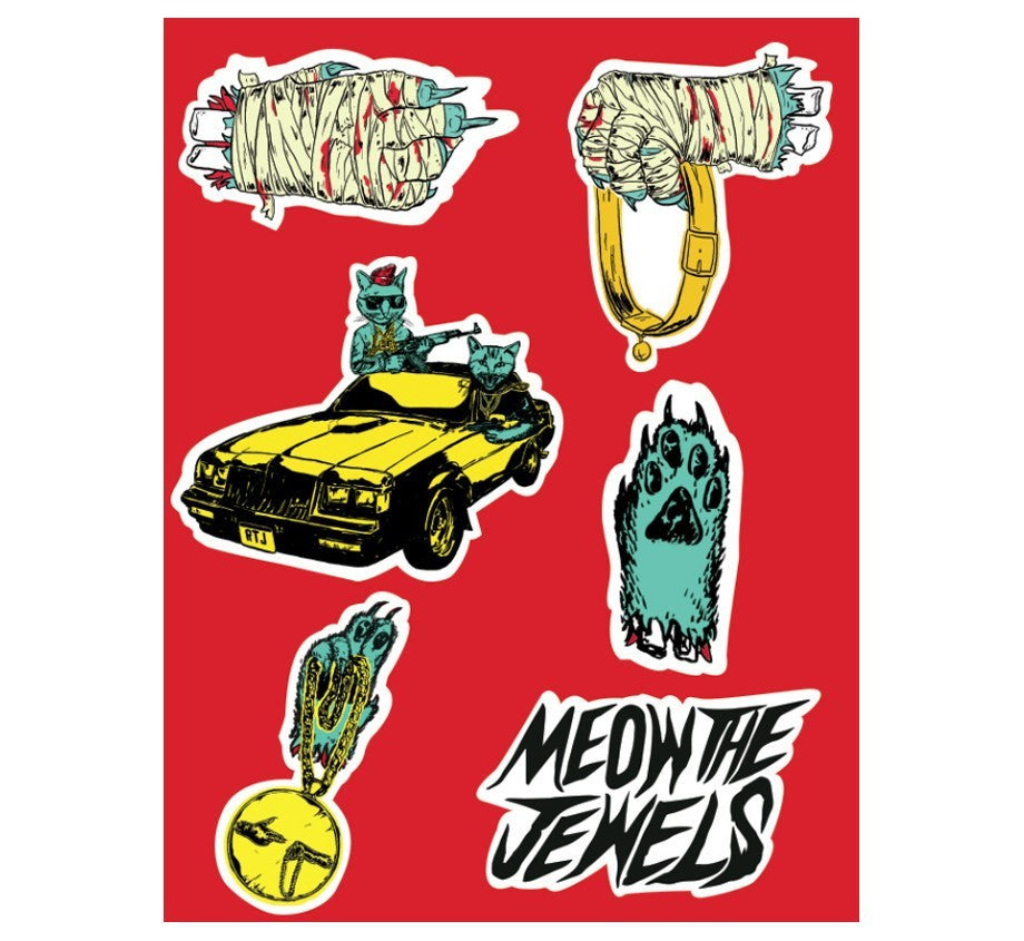 Preorders - Meow The Jewels - Test Press Bundle- Ships Late November