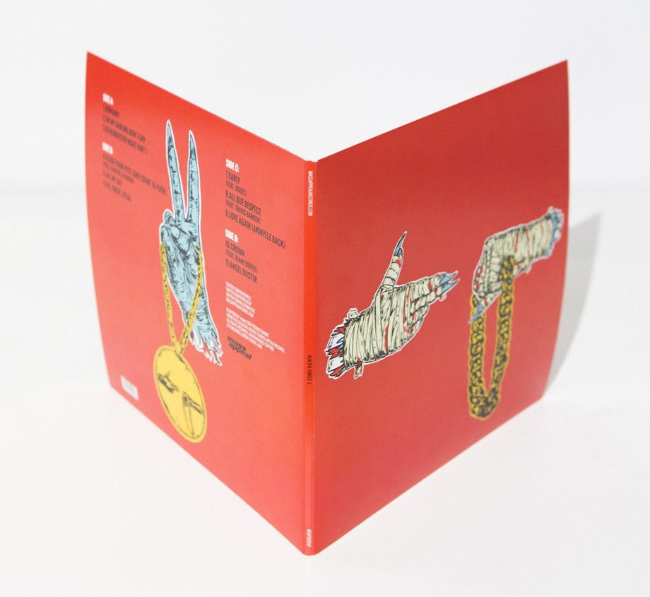 Preorders - RTJ2 - Vinyl - 2xLP (BACKORDERED - SHIPS LATE OCTOBER)