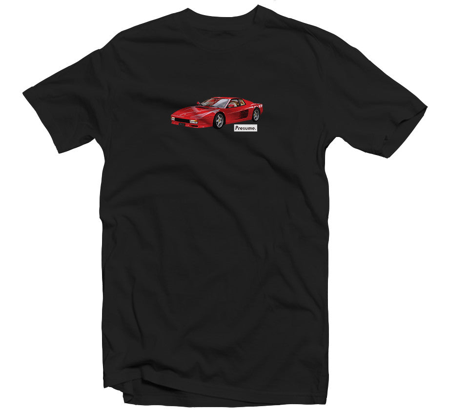 Ferrari T-shirt  -Black