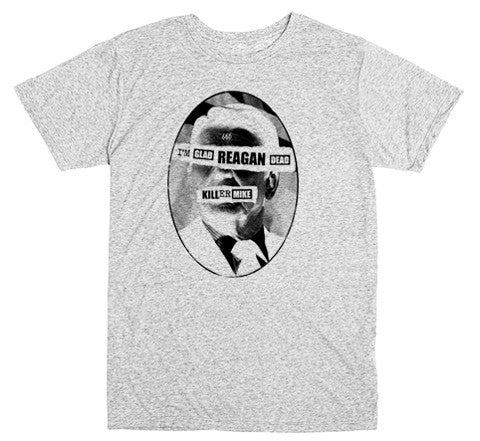 Dead Reagan T-shirt - Heather Grey