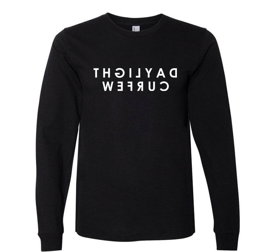 Rearview Long Sleeve T-shirt (black)