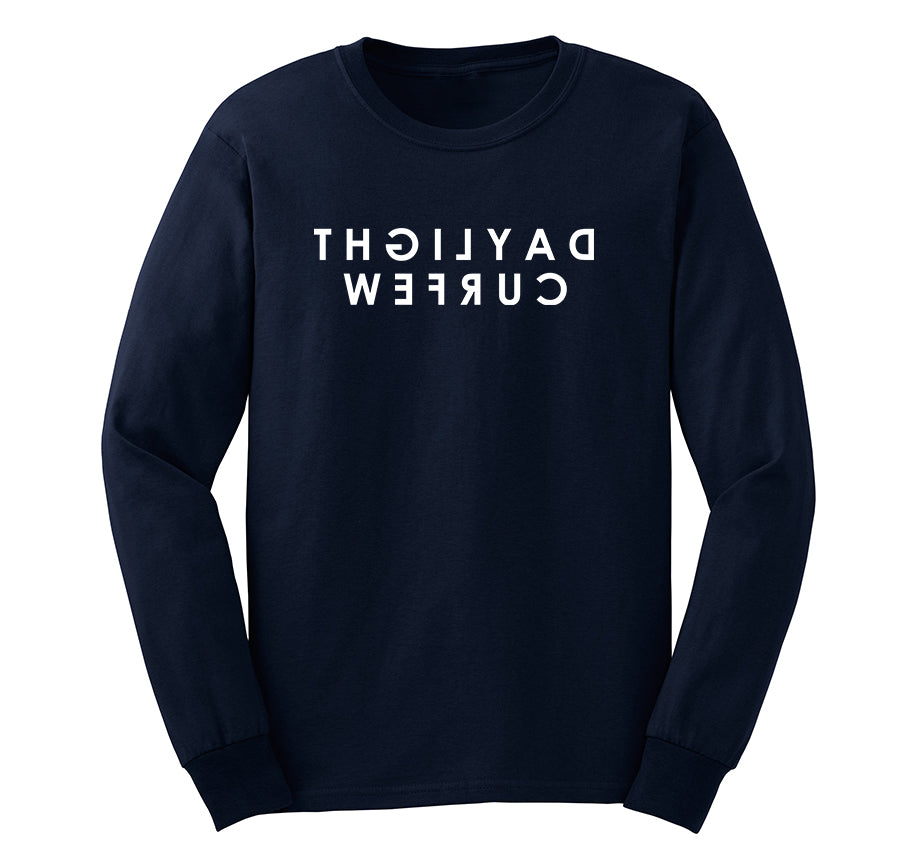 Rearview Long Sleeve T-shirt (Navy)