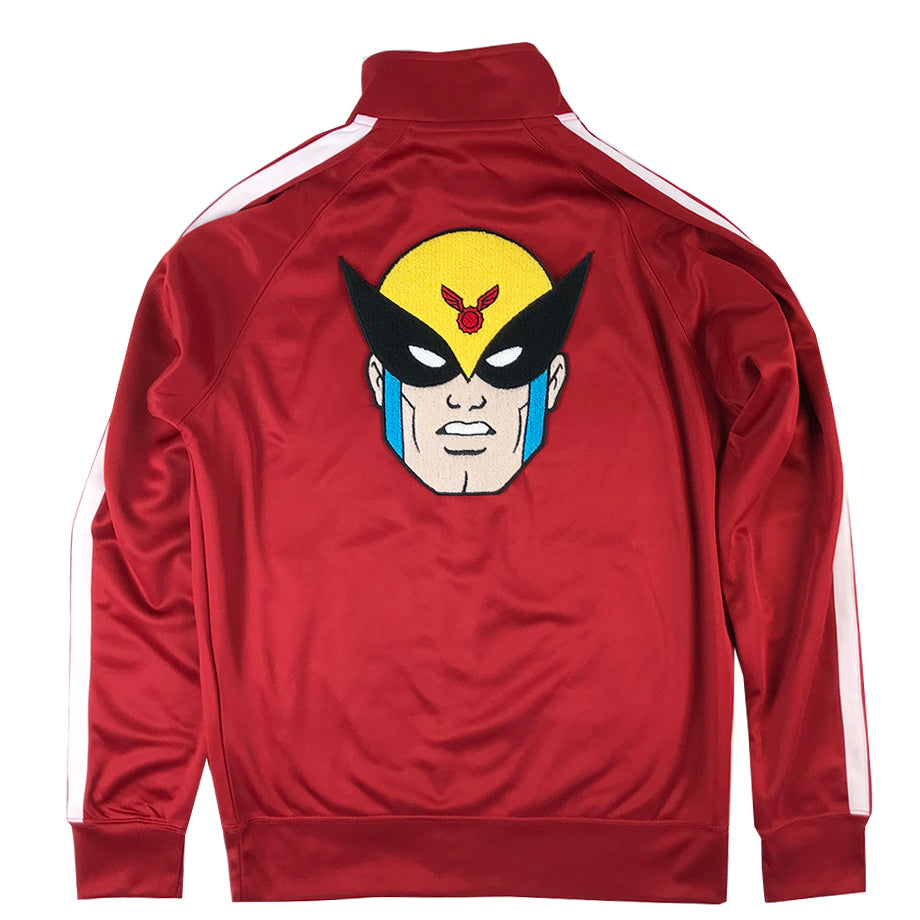 Attorney Track Jacket (Red)