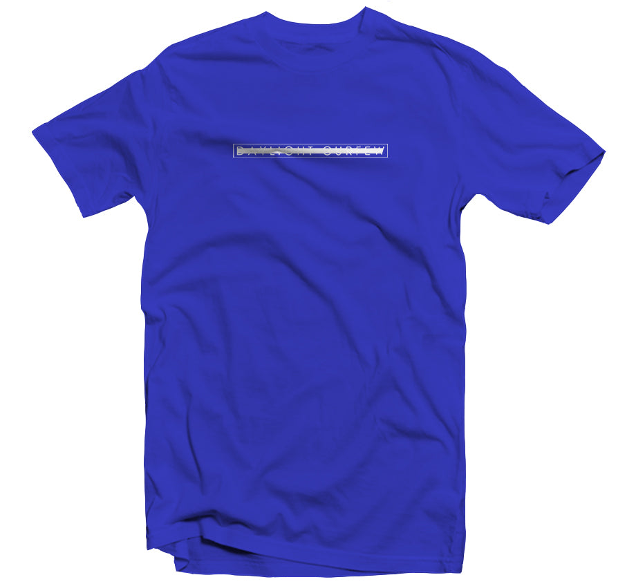 Spring '20: Redacted Logo T-shirt (Blue)