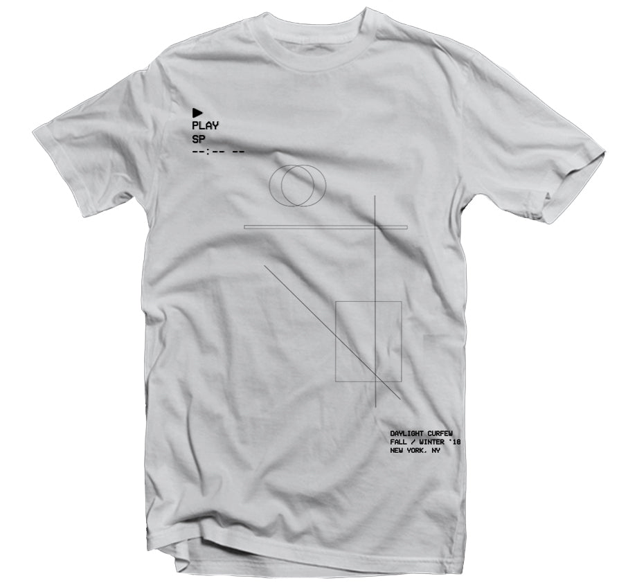 Computer Future T-shirt (Silver)
