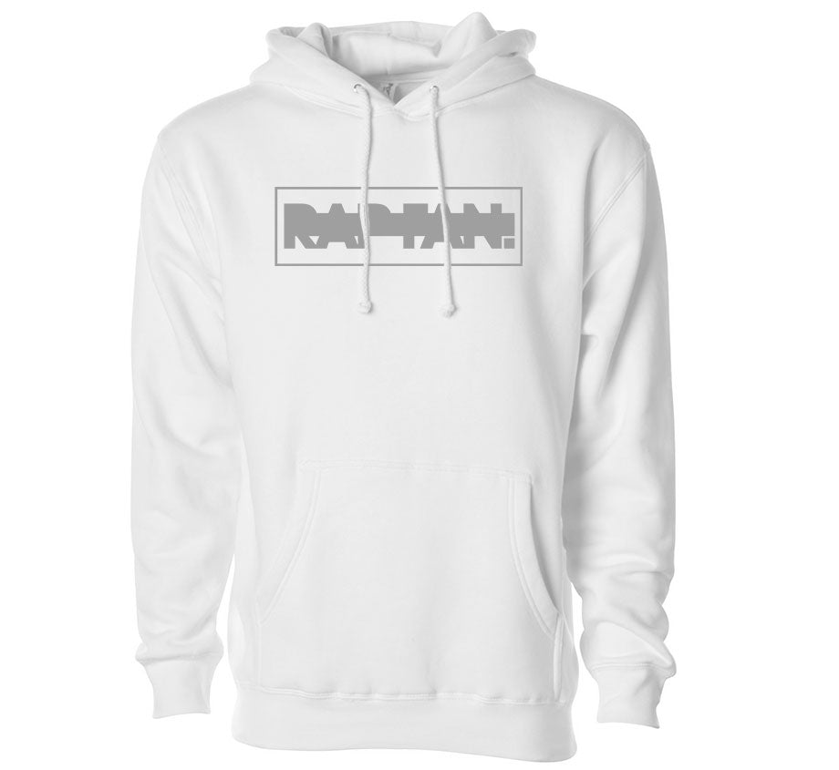 Rap Fan x Daylight Curfew: Greyed Out Hoodie (White)
