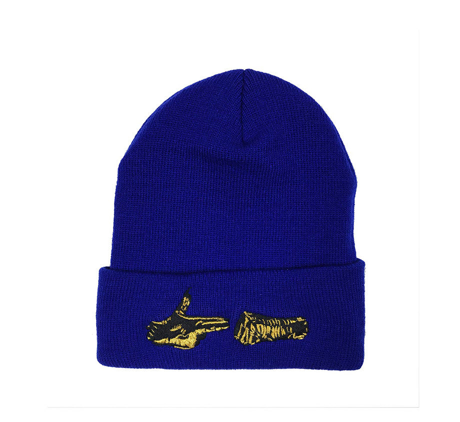 Stay Gold Beanie (Royal)