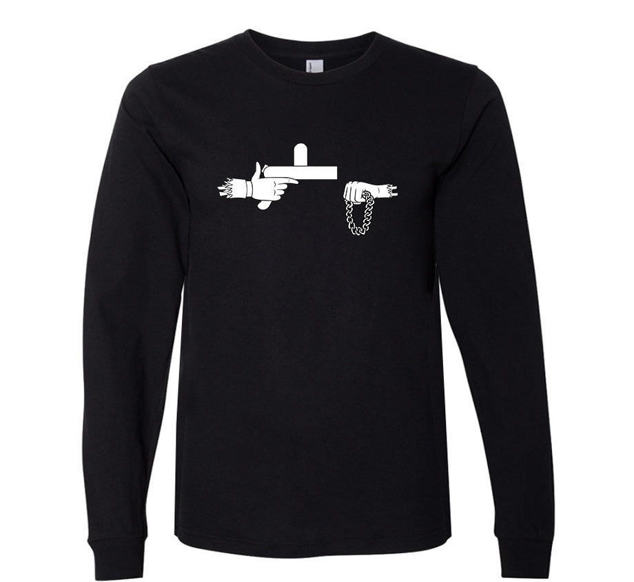Official Rick The Jewels Long Sleeve T-shirt (B&W)