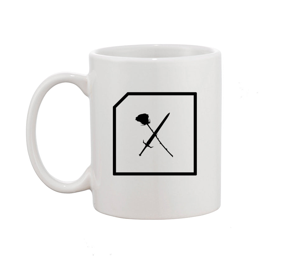 Swords and Roses Mug (White)