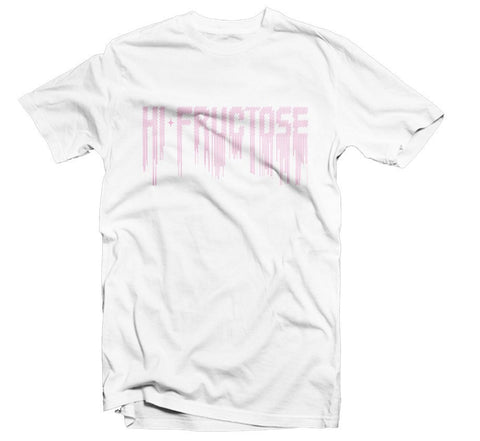 T-shirt - Digital Drips T-shirt (white/pink)