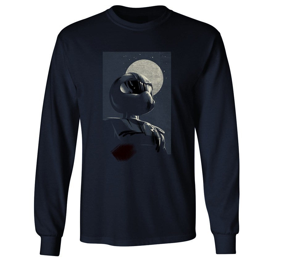 T-shirt - TOM Longsleeve (navy)