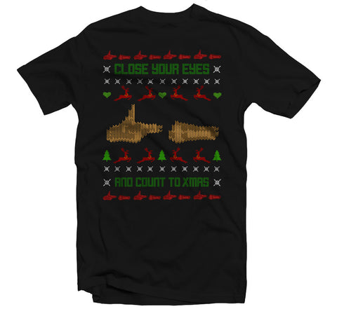Count To Xmas T-shirt