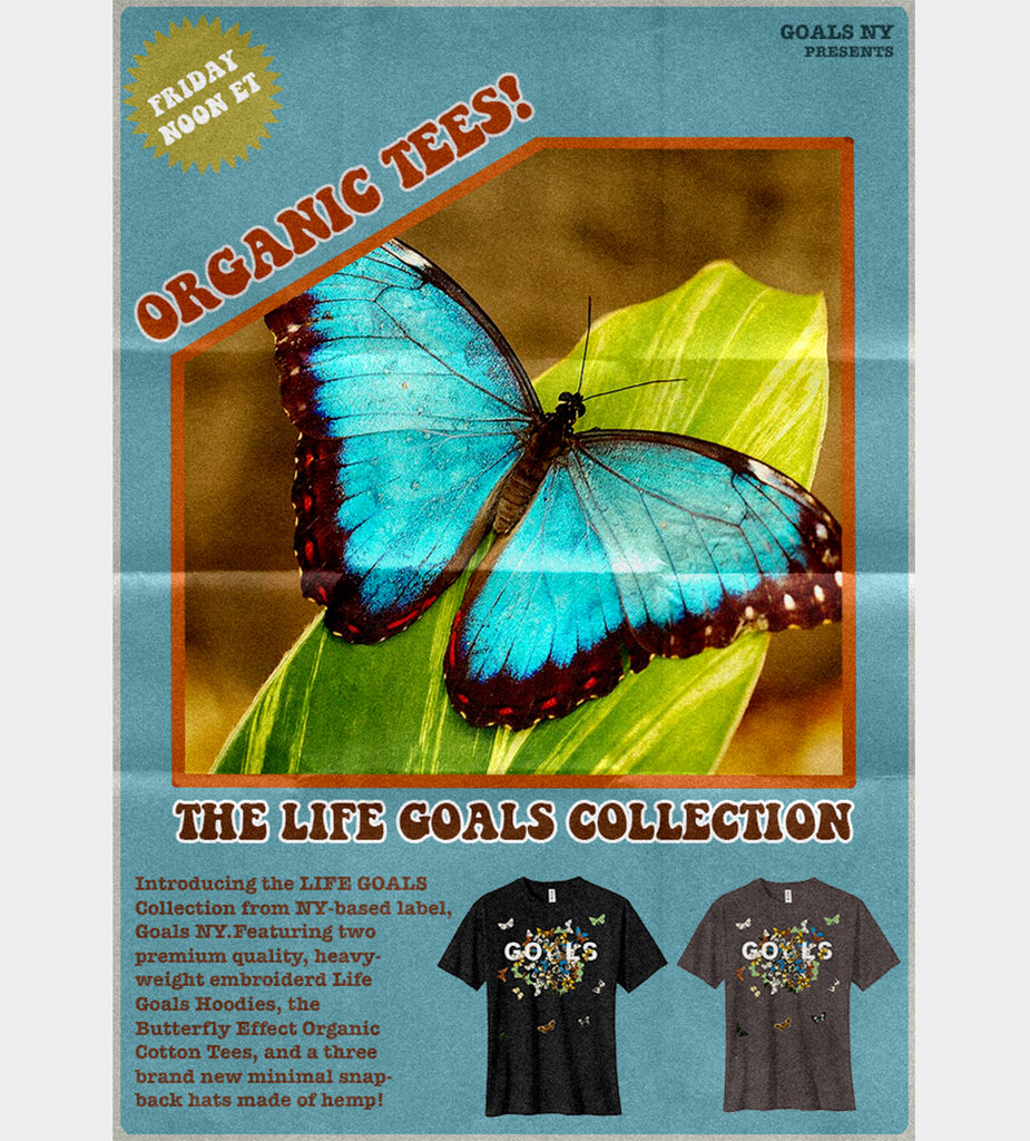 Butterfly Effect T-shirt (Black)