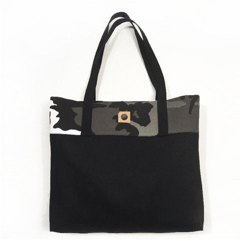 The DLC Black Denim Tote