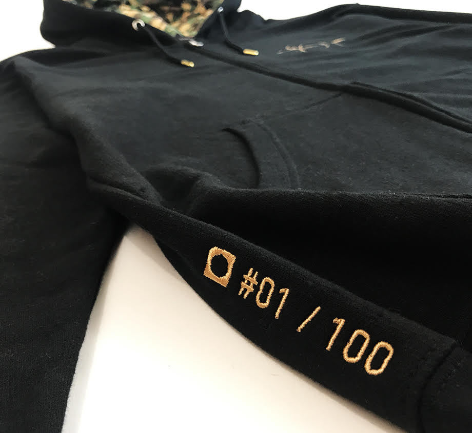 Adventure Time x Daylight Curfew: Golden Sword Hoodie - Edition of 100