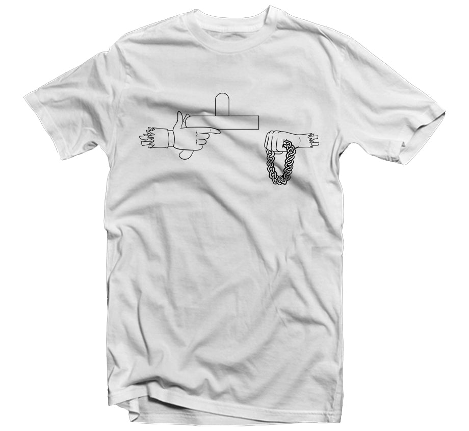 Official Rick The Jewels T-shirt - White