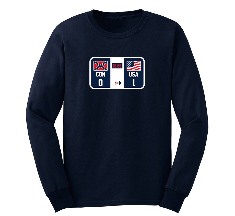 Killer Mike: Winners and Losers Long Sleeve T-shirt (Navy)