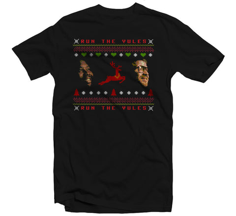 Run The Yules T-shirt