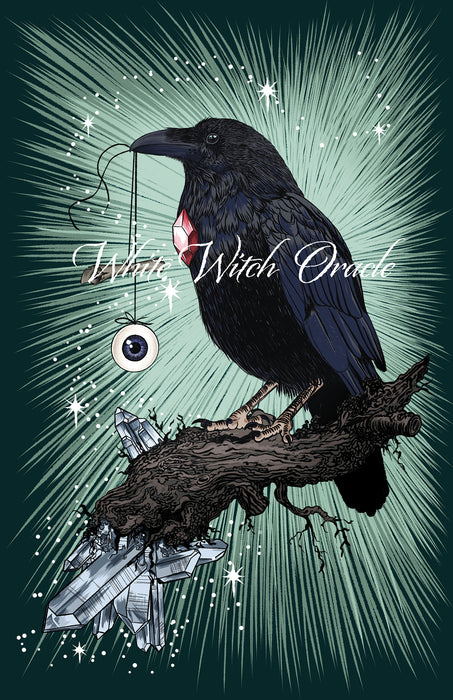Wise Raven Greeting Card