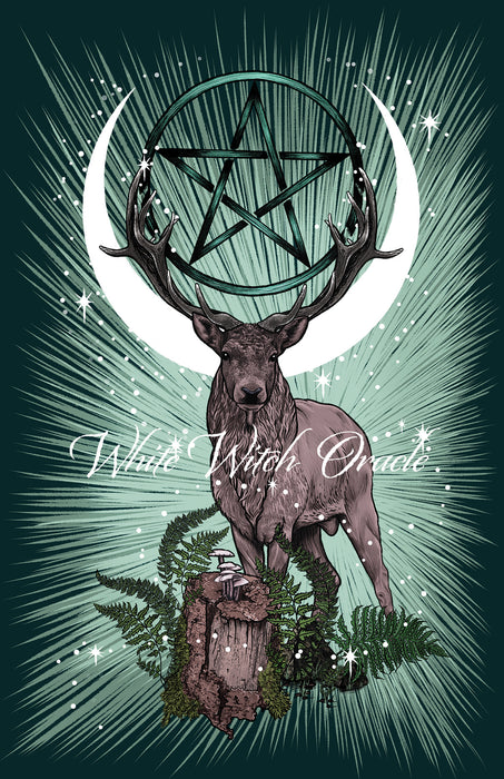 King Stag Art Print