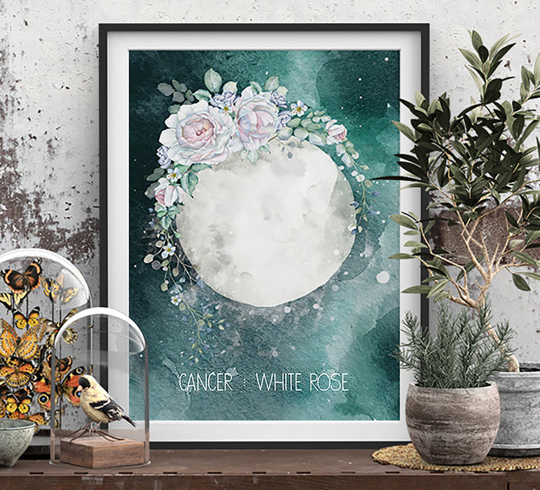 Cancer Zodiac Art Print