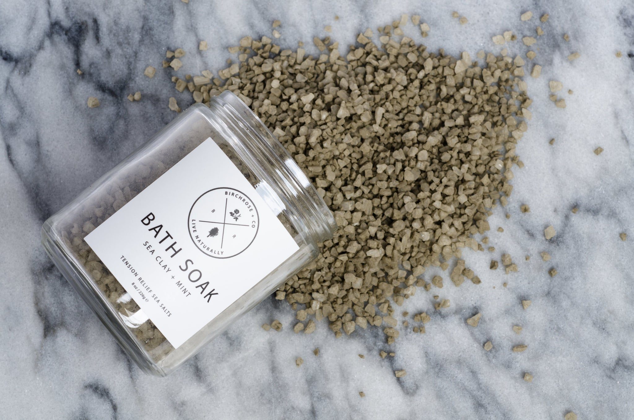 Birchrose+Co | Sea Clay and Mint Bath Soak