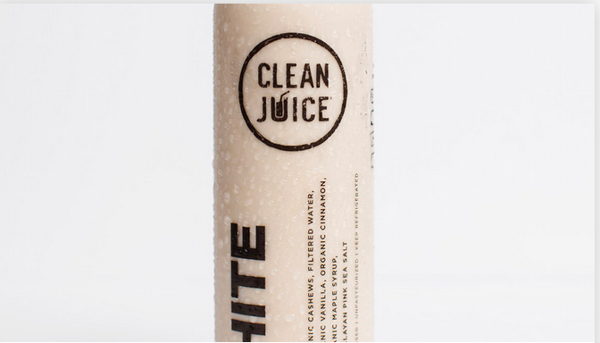 WHITE Cold-Pressed 16oz. Juice | Clean Juice (In-Store Pickup Only!)