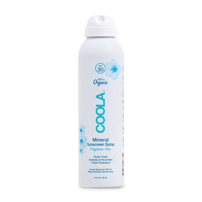 NEW! COOLA Mineral Body Organic Sunscreen Spray SPF 30