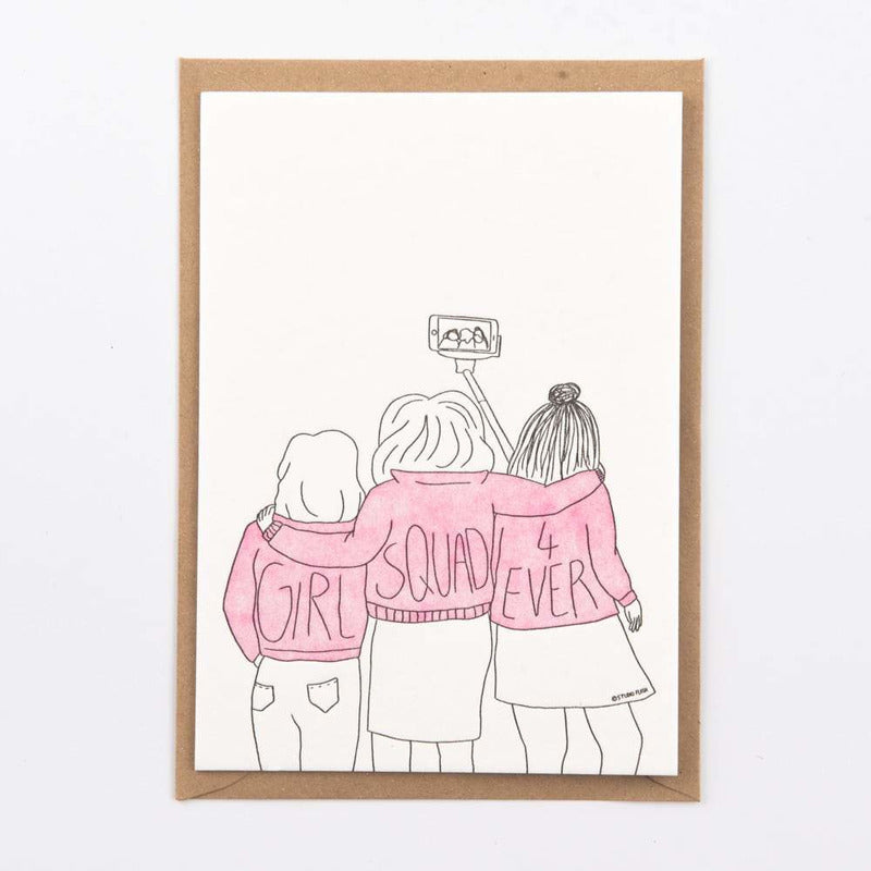 Girl squad | postkaart | Studio Flash