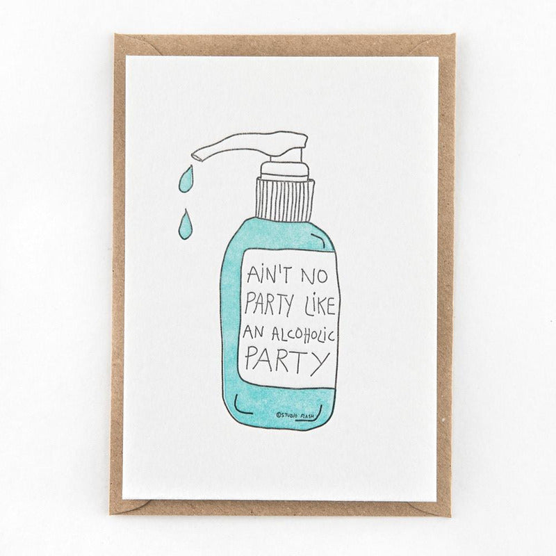 Ain't no party | postkaart | Studio Flash