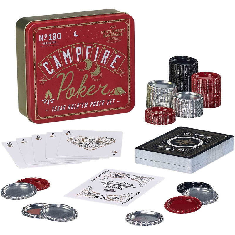 Gentlemen's Hardware | Poker Set