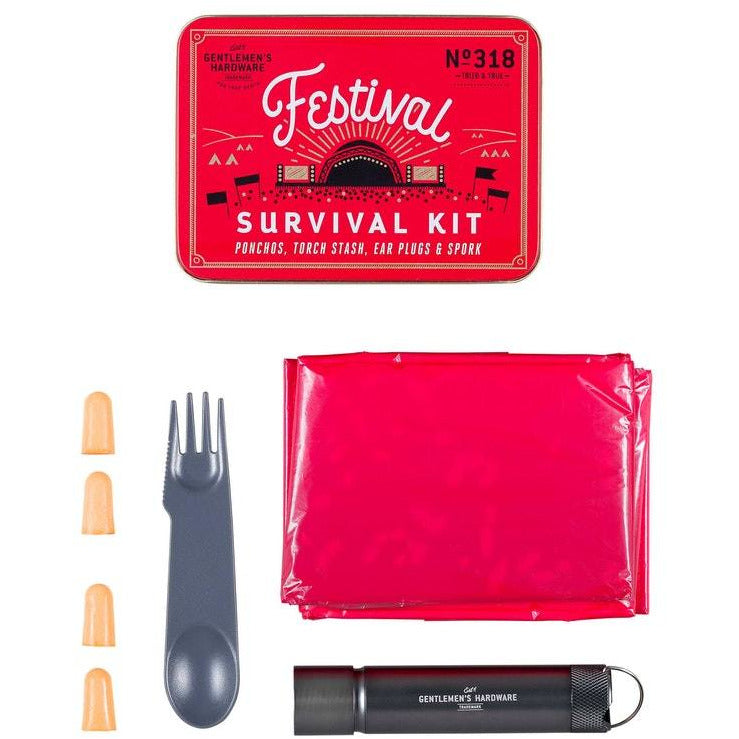 Gentlemen's Hardware | Festival Survival Kit - LETT.