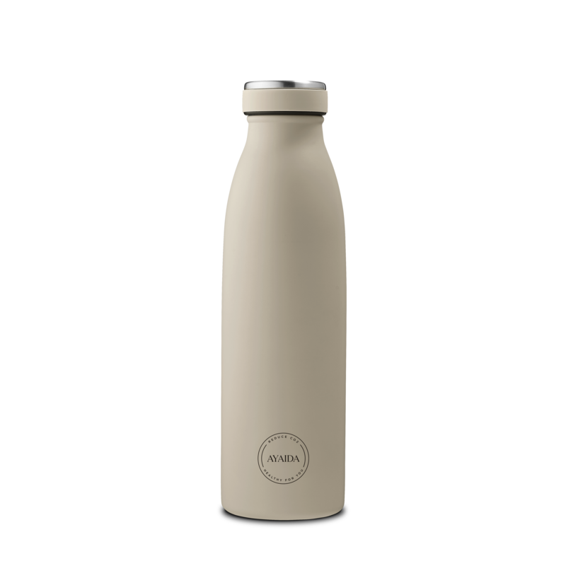 Drinkfles 500ml | cream beige | Aya & Ida