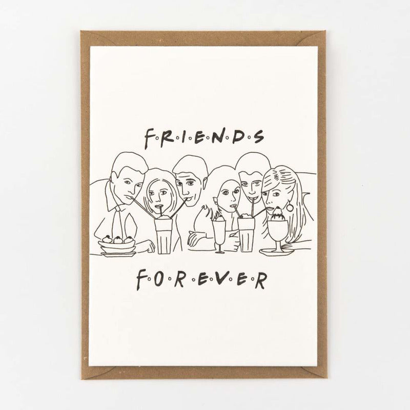 Friends forever | postkaart | Studio Flash