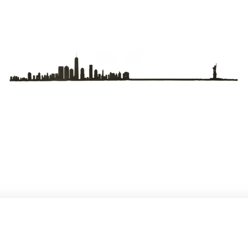 Skyline New York 125 cm - LETT.