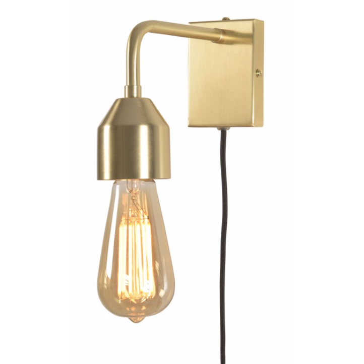 It's about Romi | gouden wandlamp Madrid