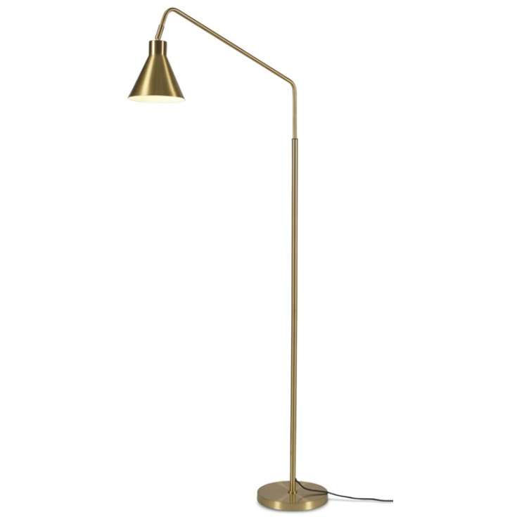 It's about Romi | vloerlamp Lyon | goud - LETT.
