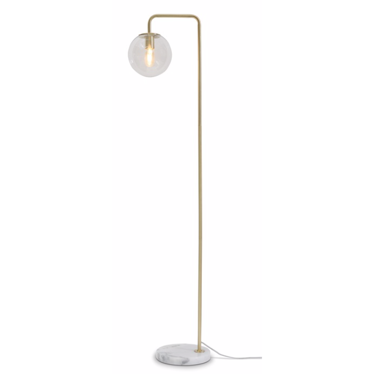 It's about Romi | vloerlamp Warsaw | goud - LETT.