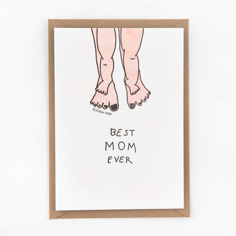 Best mom ever | postkaart | Studio Flash