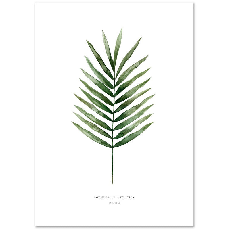 Artprint | Leo La Douce | Palm leaf - LETT.