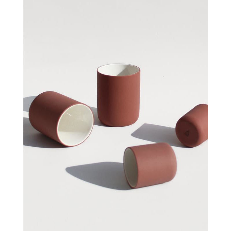 Archive Studio mok 150 ml  | terracotta - LETT.