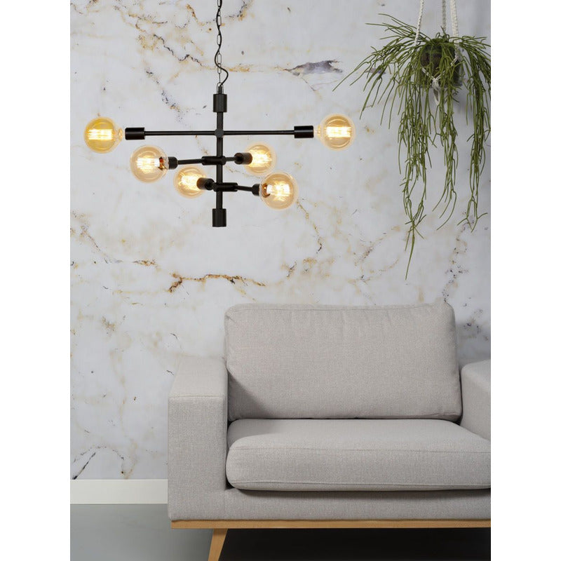 It's about Romi | hanglamp Nashville | zwart - LETT.