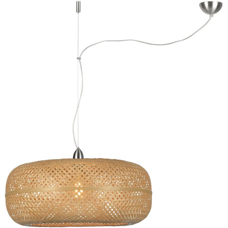 Good & Mojo | hanglamp Palawan naturel bamboe
