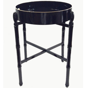 Round Lacquer Tray Tables - Maisonette Shop