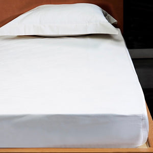 Platinum Percale by Signoria Firenze Fitted Sheet