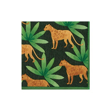 Load image into Gallery viewer, Panthera Green Boxed Paper Cocktail Napkins - Maisonette Shop